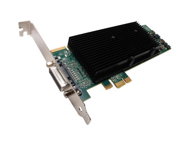 Matrox M9120-E512LAU1F 512MB GDDR2 PCI Express x1 Low Profile Workstation Video Card