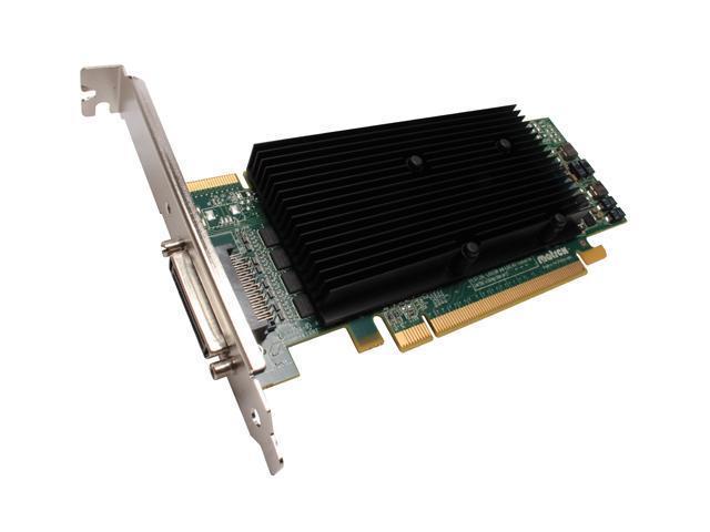 Matrox M9140-E512LAF 512MB GDDR2 PCI Express x16 Low Profile Workstation Video Card