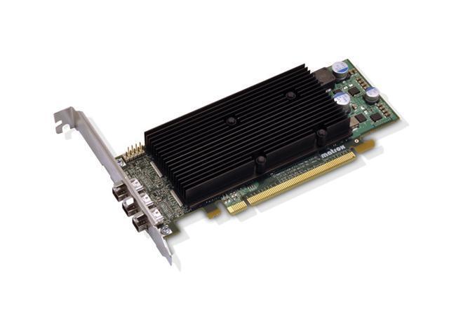 matrox M9138 M9138-E1024LAF 1GB PCI Express x16 Low Profile Workstation Video Card