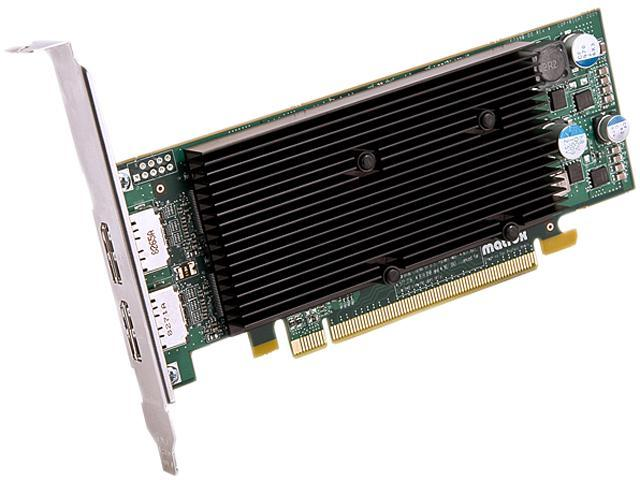 matrox M9128-E1024LAF M9128 LP 1GB DDR2 PCI Express x16 Dualhead Displayport Graphics Card