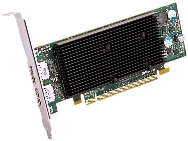 matrox M9128-E1024LAF M9128 LP 1GB DDR2 PCI Express x16 Dualhead Displayport Graphics Card