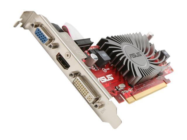 ASUS EAH5450 SILENT/DI/1GD3(LP) Radeon HD 5450 1GB DDR3 PCI Express 2.1 x16 HDCP Ready Low Profile Ready Video Card