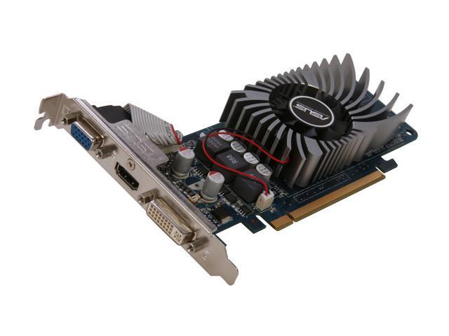 ASUS ENGT220/DI/1GD2(LP)/V2 GeForce GT 220 1GB 128-Bit DDR2 PCI Express 2.0 x16 HDCP Ready Low Profile Video Card