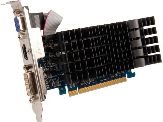 ASUS GT 600 GeForce GT 610 DirectX 11.1 GT610-SL-1GD3-L 1GB 64-Bit DDR3 PCI Express 2.0 x16 HDCP Ready Plug-in Card Video Card