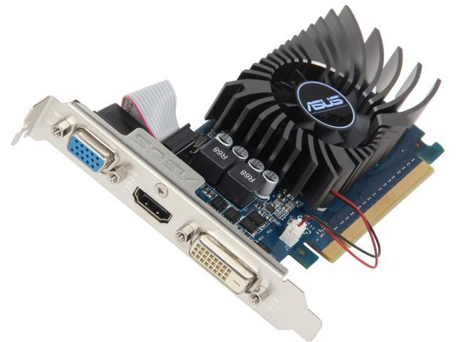 ASUS GT640-1GD5-L GeForce GT 640 1GB 64-Bit GDDR5 PCI Express 2.0 HDCP Ready Low Profile Ready Video Card