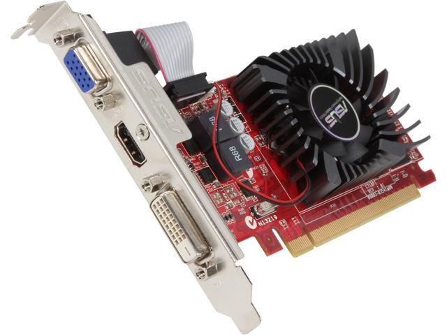 ASUS R7240-2GD3-L Radeon R7 240 2GB 128-Bit DDR3 PCI Express 3.0 HDCP Ready Low Profile Video Card