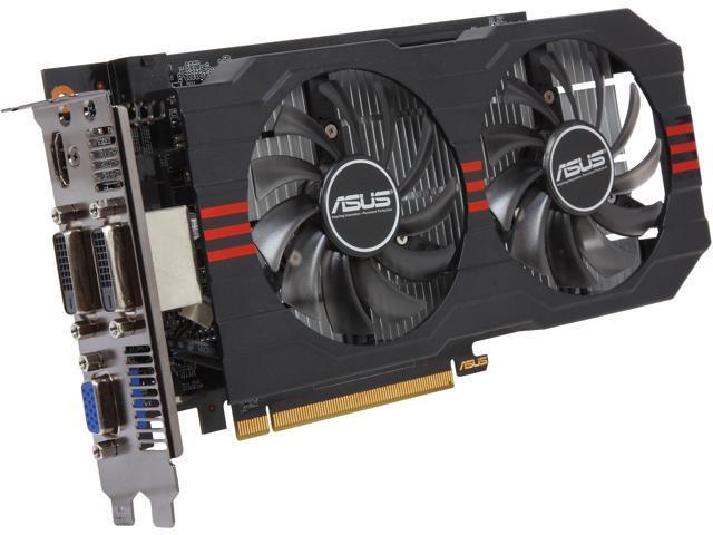 ASUS GTX650TI-OC-2GD5 GeForce GTX 650 Ti 2GB 128-Bit GDDR5 PCI Express 3.0 x16 HDCP Ready Video Card Manufactured Recertified