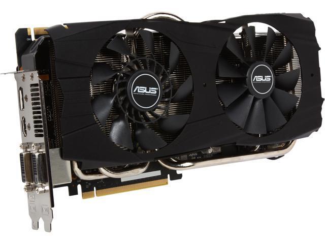 ASUS DirectCU II GTX780TI-DC2OC-3GD5 G-SYNC Support GeForce GTX 780 Ti 3GB 384-Bit GDDR5 PCI Express 3.0 HDCP Ready SLI Support Video Card