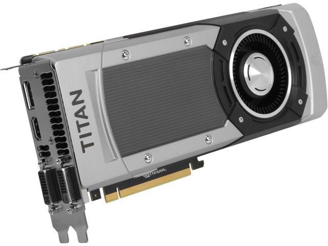 ASUS GTXTITANBLACK-6GD5 G-SYNC Support GeForce GTX TITAN BLACK 6GB 384-Bit GDDR5 PCI Express 3.0 HDCP Ready SLI Support Video Card