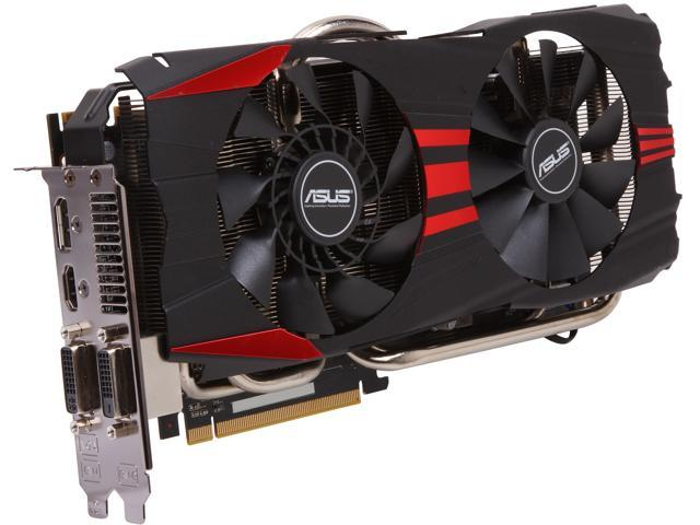ASUS DirectCU II R9280-DC2T-3GD5 Radeon R9 280 3GB 384-Bit GDDR5 PCI Express 3.0 HDCP Ready CrossFireX Support Video Card