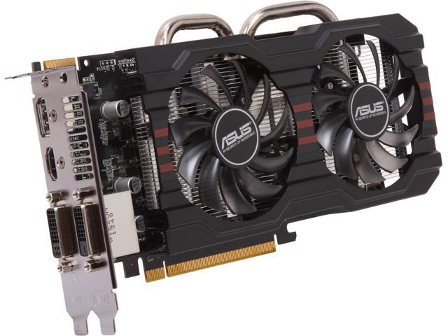 ASUS DirectCU II R7265-DC2-2GD5 Radeon R7 265 2GB 256-Bit GDDR5 PCI Express 3.0 HDCP Ready CrossFireX Support Video Card
