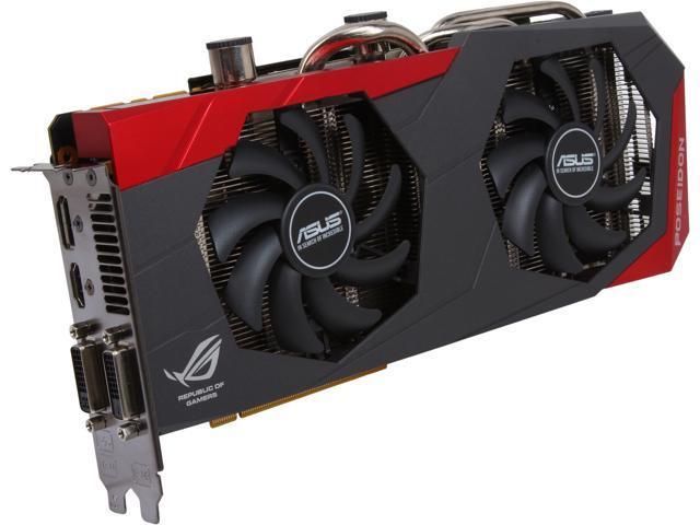 ASUS ROG POSEIDON-GTX780-P-3GD5 G-SYNC Support GeForce GTX 780 3GB 384-Bit GDDR5 PCI Express 3.0 HDCP Ready Video Card