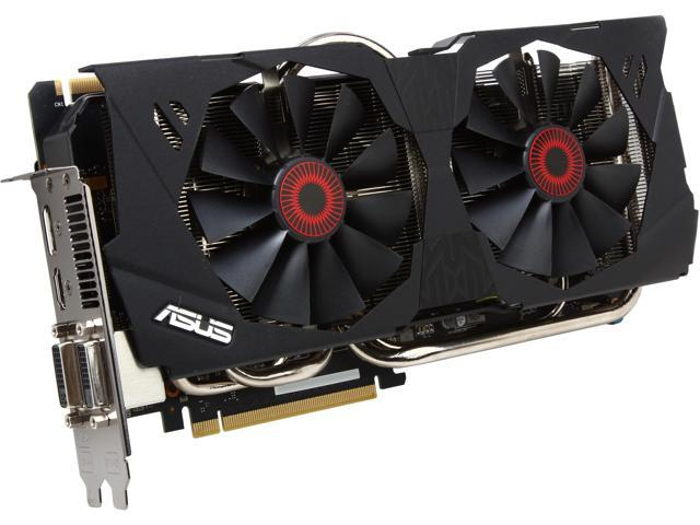 ASUS STRIX-GTX780-OC-6GD5 G-SYNC Support GeForce GTX 780 6GB 384-Bit GDDR5 PCI Express 3.0 HDCP Ready SLI Support Video Card