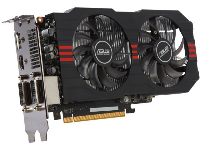 ASUS R7260X-OC-2GD5 Radeon R7 260X 2GB 128-Bit GDDR5 PCI Express 3.0 HDCP Ready CrossFireX Support Video Card