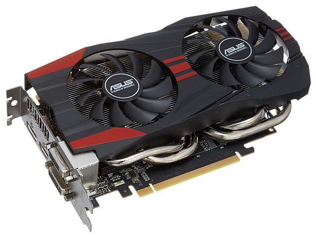 ASUS GeForce GTX 760 GTX760-DC2OC-2GD5 2GB 256-Bit GDDR5 PCI Express 3.0 x16 HDCP Ready SLI Support Video Card