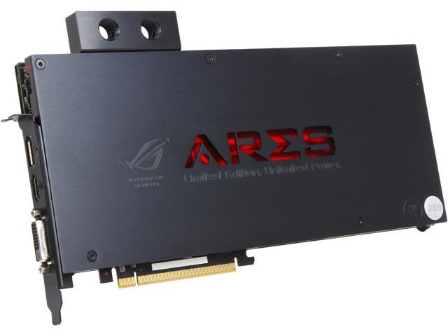 ASUS ARESIII-8GD5 Radeon R9 290X 8GB 1024-Bit GDDR5 PCI Express 3.0 HDCP Ready Video Card