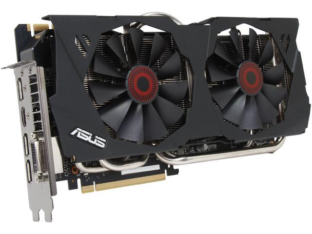 ASUS STRIX-GTX980-DC2OC-4GD5 GeForce GTX 980 4GB 256-Bit GDDR5 PCI Express 3.0 HDCP Ready SLI Support Video Card