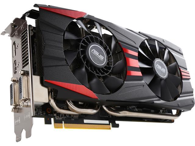 ASUS R9390X-DC2-8GD5 Radeon R9 390X 8GB 512-Bit GDDR5 PCI Express 3.0 HDCP Ready CrossFireX Support Video Card (Mail In Rebate $20.0 Expires ...