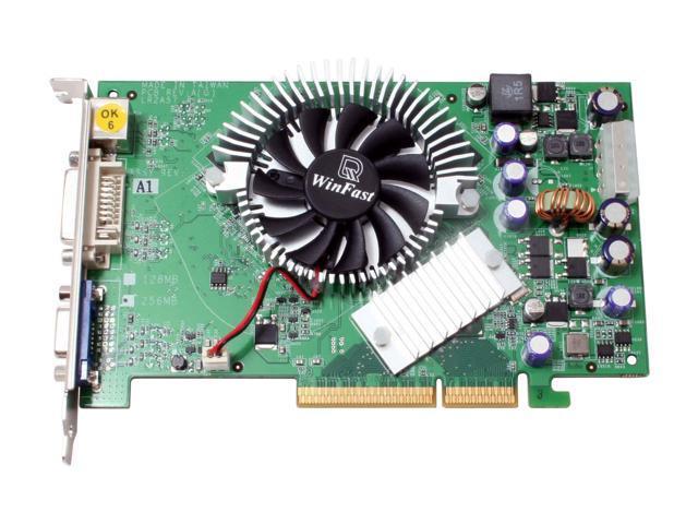 Leadtek WinFast A7600GT TDH 256MB GeForce 7600GT 256MB 128-bit GDDR3 AGP 8X Video Card