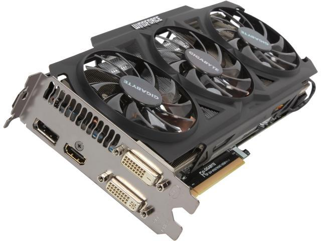 GIGABYTE GV-R927XOC-2GD Radeon R9 270X 2GB 256-Bit GDDR5 PCI Express 3.0 HDCP Ready CrossFireX Support Video Card