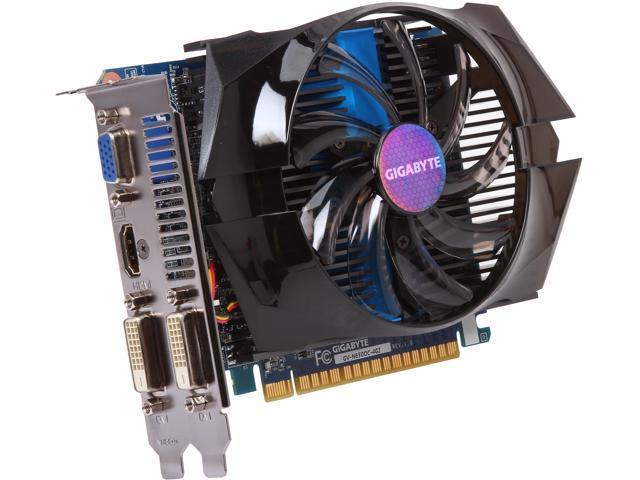 GIGABYTE GV-N650OC-4GI GeForce GTX 650 4GB 128-Bit GDDR5 PCI Express 3.0 HDCP Ready Video Card