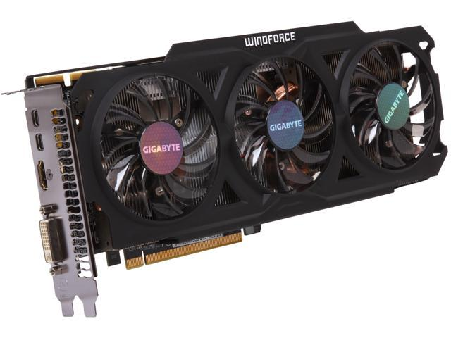 GIGABYTE GV-R928WF3OC-3GD Radeon R9 280 3GB 384-Bit GDDR5 PCI Express 3.0 HDCP Ready Video Card
