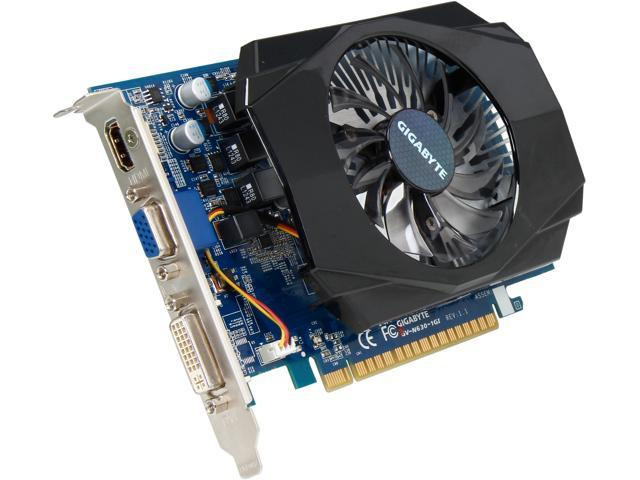 GIGABYTE GV-N630-1GI GeForce GT 630 1GB 128-Bit DDR3 PCI Express 2.0 x16 HDCP Ready Video Card