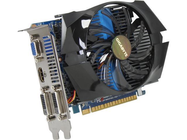 GIGABYTE GV-N65TOC-1GI GeForce GTX 650 Ti 1GB 128-Bit GDDR5 PCI Express 3.0 x16 HDCP Ready Video Card Manufactured Recertified
