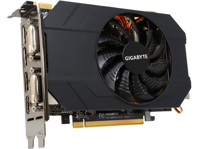 GIGABYTE GV-N970IXOC-4GD GeForce GTX 970 4GB 256-Bit GDDR5 PCI Express 3.0 HDCP Ready Video Card (Mail In Rebate $10.0 Expires 12/31/14) (Mail In ...