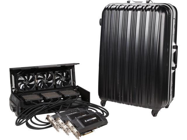 GIGABYTE GV-N980X3WA-4GD GeForce GTX 980 4GB 256-Bit GDDR5 PCI Express 3.0 HDCP Ready ATX 3-WAY SLI GAMING Graphics Card