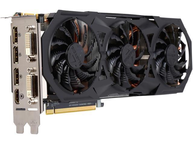 GIGABYTE GV-N960G1 GAMING-4GD GeForce GTX 960 4GB 128-Bit GDDR5 HDCP Ready SLI Support Video Card