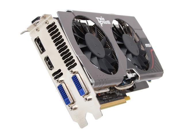 MSI N660 TF 2GD5 G-SYNC Support GeForce GTX 660 2GB 192-Bit GDDR5 PCI Express 3.0 x16 HDCP Ready SLI Support Video Card