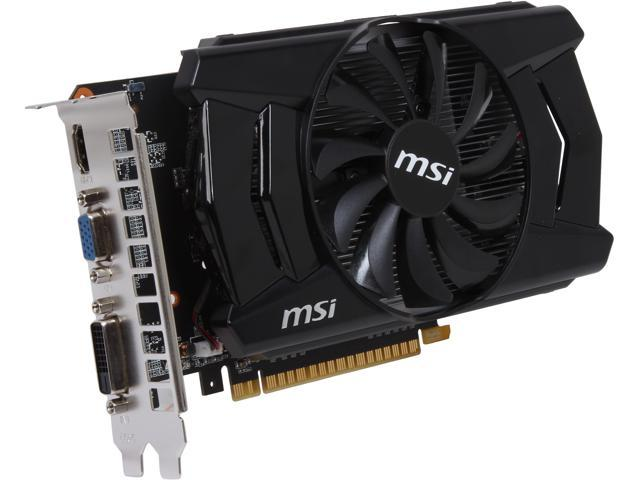 MSI N750-1GD5/OC G-SYNC Support GeForce GTX 750 1GB 128-Bit GDDR5 PCI Express 3.0 x16 HDCP Ready Video Card (Mail In Rebate $30.0 Expires ...