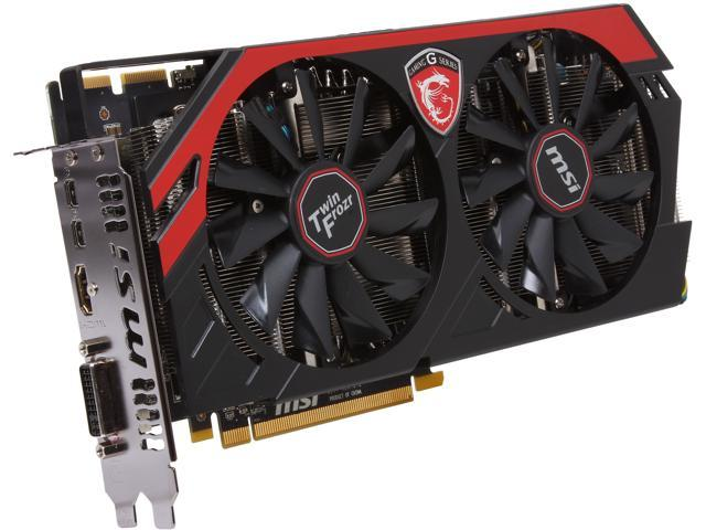 MSI R9 280 GAMING 3G 384-Bit GDDR5 PCI Express 3.0 x16 HDCP Ready CrossFireX Support Video Card