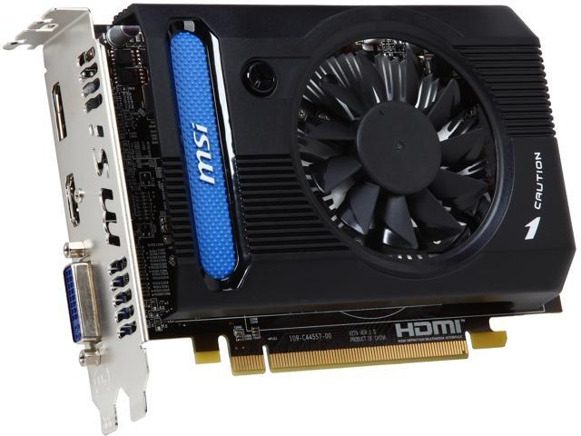 MSI R7730-1GD5 Radeon HD 7730 1GB 128-Bit GDDR5 PCI Express 3.0 x16 HDCP Ready CrossFireX Support Video Card
