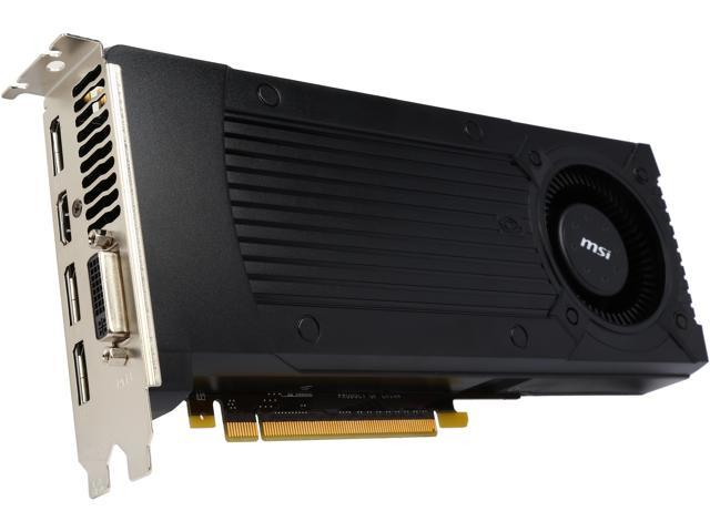 MSI GTX 960 2GD5 GeForce GTX 960 2GB 128-Bit GDDR5 HDCP Ready SLI Support ATX Video Card