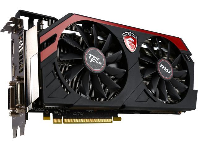 MSI R9 290X GAMING 8G Radeon R9 290X 8GB 512-Bit GDDR5 PCI Express 3.0 x16 HDCP Ready CrossFireX Support ATX Video Card