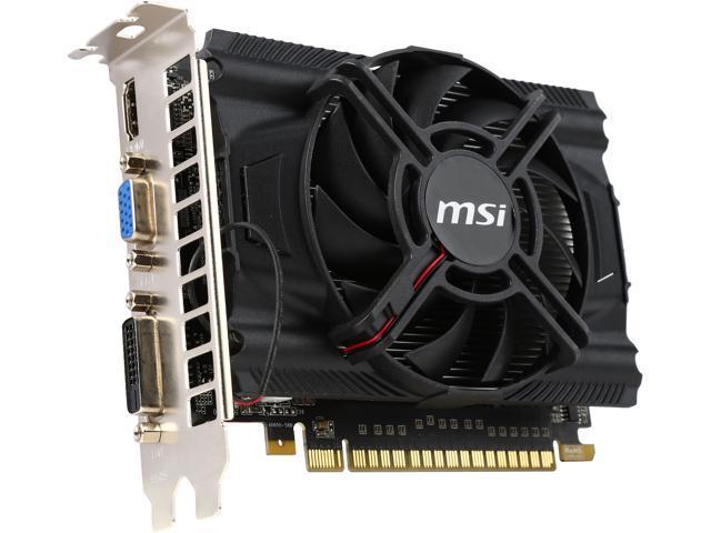 MSI N650-2GD5/OC-R GeForce GTX 650 2GB 128-Bit GDDR5 PCI Express 3.0 HDCP Ready Video Card