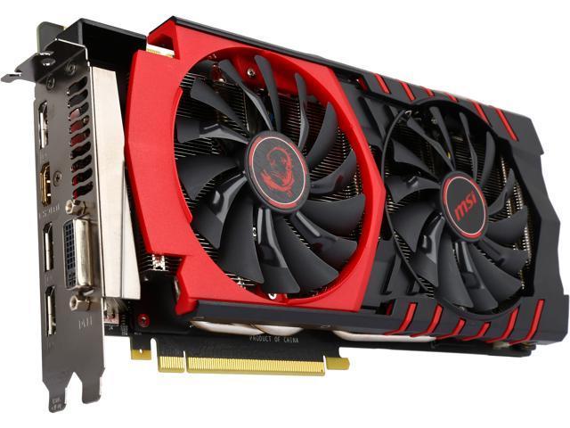 MSI GTX 980Ti GAMING 6G LE GeForce GTX 980 Ti 6GB 384-Bit GDDR5 HDCP Ready SLI Support ATX Video Card