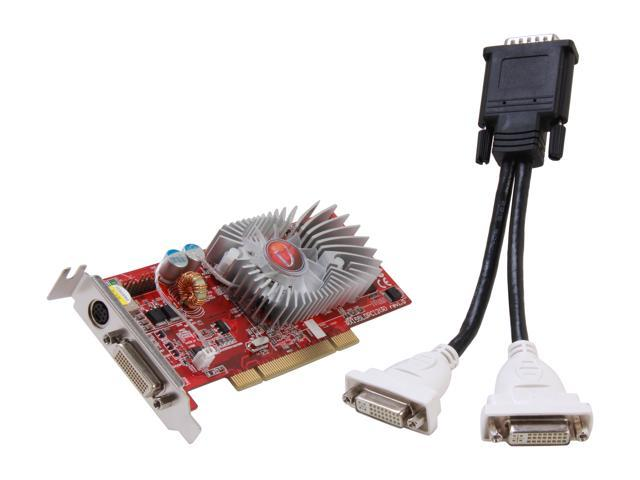 VisionTek 900106 Radeon X1300 256MB 128-Bit GDDR2 PCI Low Profile Video Card