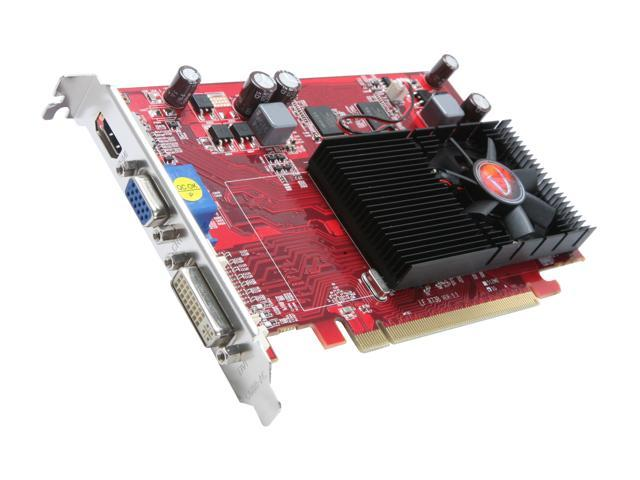 VisionTek 900252 Radeon HD 4650 1GB 128-Bit DDR2 PCI Express 2.0 x16 HDCP Ready CrossFireX Support Video Card