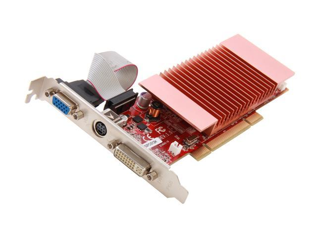 Visiontek Radeon 3450 512MB DDR2 PCI (DVI-I, VGA, TV Out)