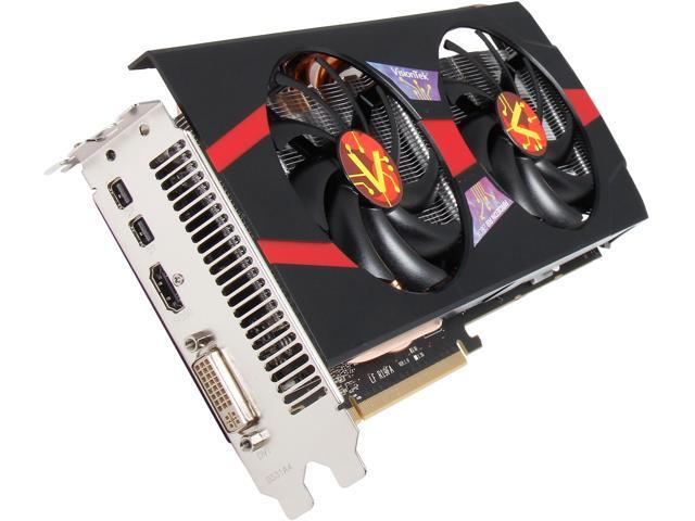 VisionTek 900652 Radeon R9 280X 3GB 384-Bit GDDR5 PCI Express 3.0 CrossFireX Support Video Card