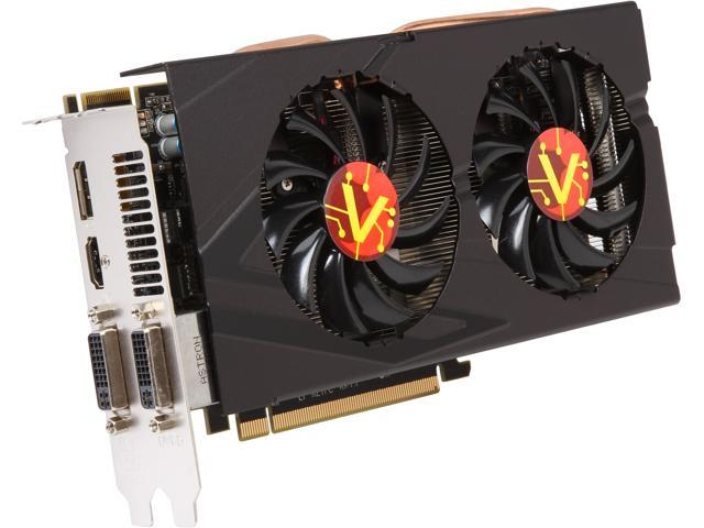 VisionTek 900651 Radeon R9 270X 2GB 256-Bit GDDR5 PCI Express 3.0 CrossFireX Support Video Card