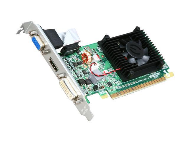 EVGA 01G-P3-1312-LR GeForce 210 1GB 64-Bit DDR3 PCI Express 2.0 x16 HDCP Ready Low Profile Video Card