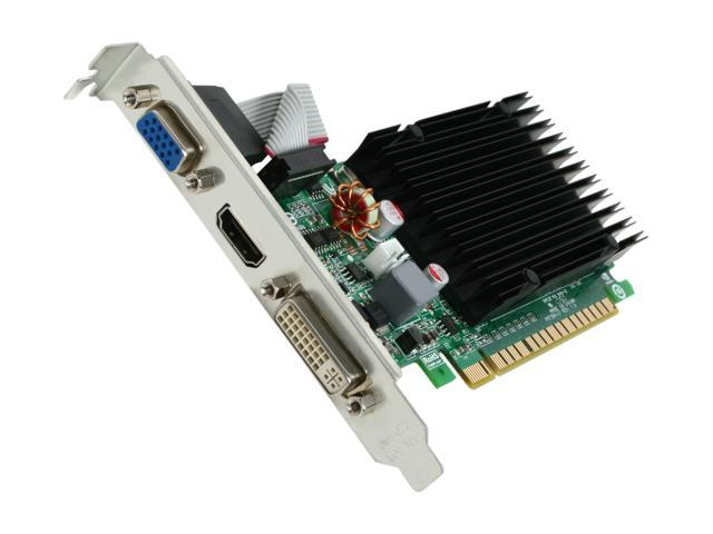 EVGA 512-P3-1311-KR GeForce 210 512MB 32-Bit DDR3 PCI Express 2.0 x16 HDCP Ready Video Card