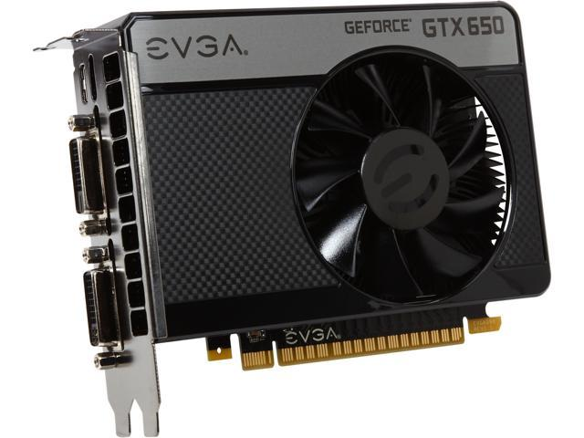 EVGA SuperClocked 01G-P4-2652-KR GeForce GTX 650 1GB 128-bit GDDR5 PCI Express 3.0 x16 HDCP Ready Video Card