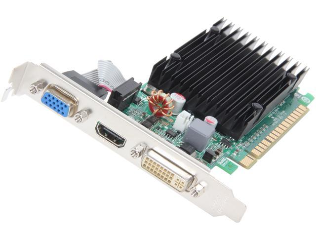 EVGA 01G-P3-1313-RX GeForce 210 1GB 64-Bit DDR3 PCI Express 2.0 x16 HDCP Ready Low Profile Ready Video Card