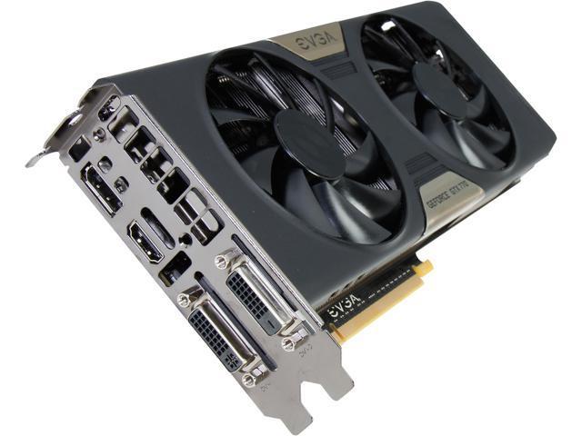 EVGA w/ ACX Cooling 02G-P4-2773-KR GeForce GTX 770 2GB 256-bit GDDR5 PCI Express 3.0 SLI Support Video Card