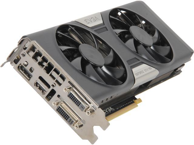 EVGA 03G-P4-2782-KR G-SYNC Support GeForce GTX 780 3GB 384-Bit GDDR5 PCI Express 3.0 SLI Support Video Card w/ EVGA ACX Cooler